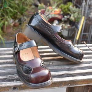 VINTAGE DR. MARTENS MARY JANE TWO TONE ENGLAND